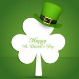 Día del St Patrick feliz Vector EPS 10 Foto de archivo