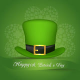Día del St Patrick feliz Vector EPS 10 Foto de archivo libre de regalías