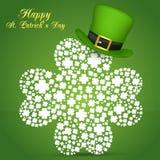 Día del St Patrick feliz Vector EPS 10 Imagen de archivo libre de regalías