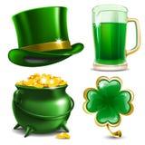 Día del St. Patricks stock de ilustración