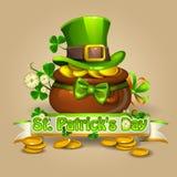Día 2 del St Patricks Imagen de archivo libre de regalías