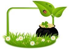 Día del St. Patricks de la tarjeta de felicitación Imágenes de archivo libres de regalías
