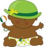Día del St. Patricks del bebé Foto de archivo
