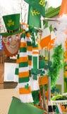 Día del St. Patricks en Moscú Imágenes de archivo libres de regalías