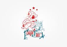Día del Trabajo libre illustration