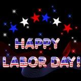 Día del Trabajo feliz. stock de ilustración