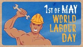 Día del Trabajo internacional El primer de puede Fotografía de archivo