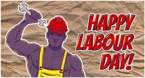 Día del Trabajo internacional El primer de puede Imagenes de archivo