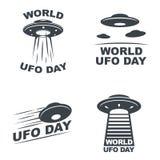 Día del UFO del mundo Fotografía de archivo libre de regalías