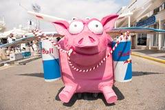 Día del vuelo de Red Bull Flugtag Imágenes de archivo libres de regalías