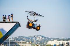 Día del vuelo de Red Bull Flugtag Imagen de archivo libre de regalías