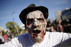 Día del zombi de caminar absolutamente Foto de archivo libre de regalías