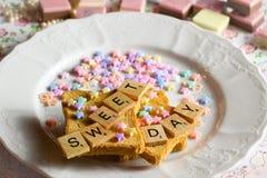 Día dulce Foto de archivo libre de regalías