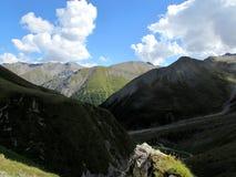 Día en la montaña Imagen de archivo