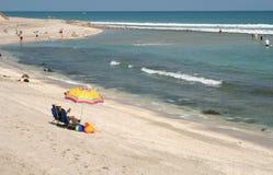 Día en la playa Foto de archivo