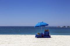 Día en la playa imagenes de archivo