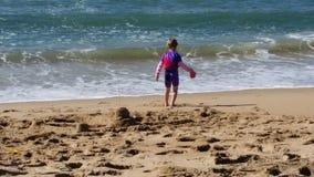 Día en la playa Fotografía de archivo libre de regalías