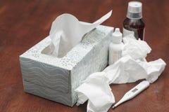 Día enfermo Imagen de archivo libre de regalías