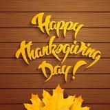 Día feliz de la acción de gracias ilustración del vector