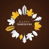 Día feliz de la acción de gracias Imagenes de archivo
