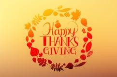 Día feliz de la acción de gracias Imágenes de archivo libres de regalías