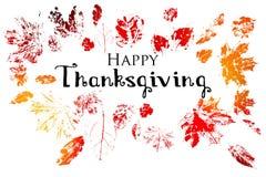 Día feliz de la acción de gracias Imagen de archivo
