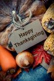 Día feliz de la acción de gracias Foto de archivo libre de regalías