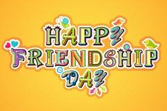 Día feliz de la amistad Fotos de archivo libres de regalías