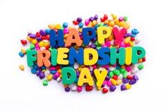 Día feliz de la amistad Imagen de archivo