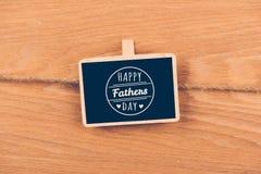 Día feliz de los father´s Imágenes de archivo libres de regalías