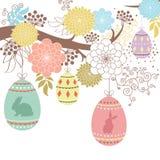 Día feliz de Pascua stock de ilustración