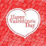 Día feliz de Valentineâs Fotografía de archivo libre de regalías
