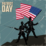 Día feliz del patriota Fotos de archivo