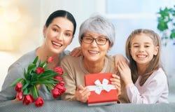 Día feliz del `s de la madre imagenes de archivo