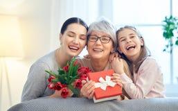 Día feliz del `s de la madre foto de archivo libre de regalías