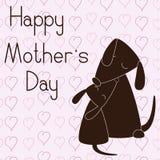 Día feliz del `s de la madre Imagen de archivo libre de regalías