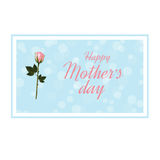 Día feliz del `s de la madre Fotos de archivo libres de regalías