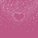 Día feliz del `s de la tarjeta del día de San Valentín libre illustration