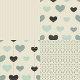 Día feliz del `s de la tarjeta del día de San Valentín ilustración del vector