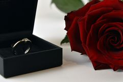 Día feliz del `s de la tarjeta del día de San Valentín fotografía de archivo