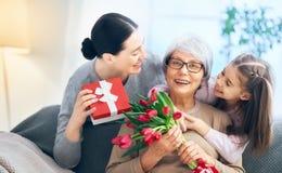 Día feliz del ` s de las mujeres foto de archivo libre de regalías