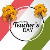 Día feliz del ` s del profesor ilustración del vector