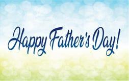 Día feliz del ` s del padre Fotografía de archivo libre de regalías