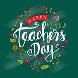Día feliz del ` s del profesor stock de ilustración