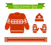 Día feo del suéter Fotos de archivo libres de regalías