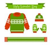 Día feo del suéter Foto de archivo