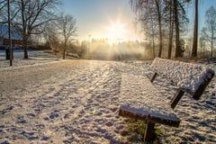 Día frío Fotos de archivo