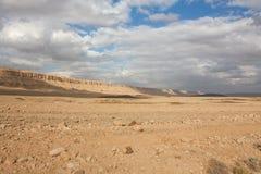 Paisaje de Negev Imagenes de archivo