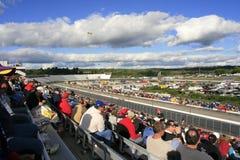 Día hermoso para una raza del carro Foto de archivo