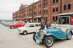 Día histórico 2013 del coche de Yokohama Fotos de archivo libres de regalías